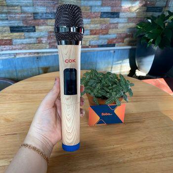 Mic karaoke đa năng COK W-528