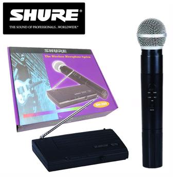 Micro không dây Shure SH200 - Đầm tay âm chắc