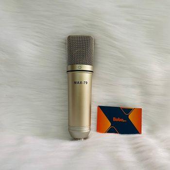 Mic thu âm chuyên nghiệp MAX-79 cao cấp - Hàng chính hãng