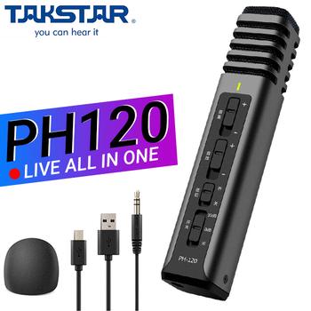 Mic livestream không cần Soundcard Tasktar PH120 chính hãng - Bảo hành 12 Tháng
