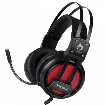 Tai nghe Bosston HS200 LED 7 màu chuyển đổi ấn tượng - Âm thanh vòm 7.1