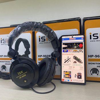 Tai Nghe Kiểm Âm ISK HP 960B chính hãng