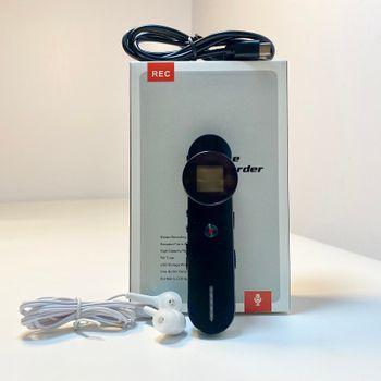 Máy ghi âm kiêm MP3 V819 - Chất liệu hợp kim kẽm