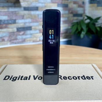 Máy ghi âm A252 mặt kính bộ nhớ trong 8GB có chế độ chờ lên đến 15 ngày - Mẫu HOT 2020