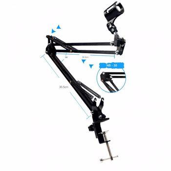 Chân đế kẹp bàn gắn micro thu âm mã N44