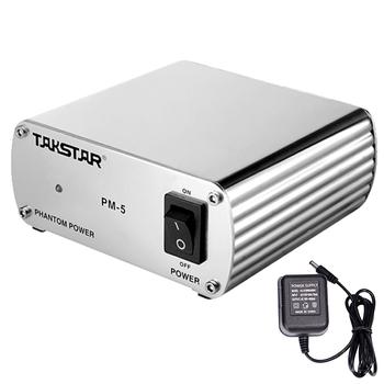 Nguồn micro thu âm 48V Tasktar PM - 5 chính hãng bảo hành 12 tháng