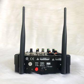 Bộ soundcard và micro Mixer G4 chính hãng