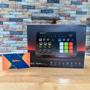 Soundcard livestream Takstar SCM1