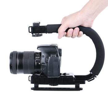 Tay cầm chống rung cho máy ảnh DSLR dạng xách S20 - Tạo hiệu ứng chuyển động cực mượt
