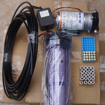 Hệ thống phun sương quán cà phê máy Hawin HP 2600 - 20 đầu béc phun trọn bộ