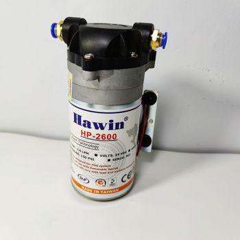 Máy phun sương Hawin HP 2600 chính hãng Taiwan kèm Apdater - 1.6LPM (hỗ trợ từ 10 - 30 Béc)