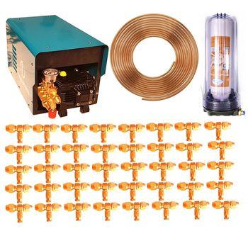 Combo máy cao áp ống đồng 40 béc
