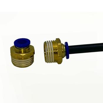 Răng ren ngoài RN 21 - Nối dây 8 ly (21 ra 8mm) đồng