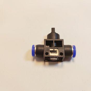 Van khóa phun sương khóa khí nhựa 2 đầu 8 ly (8 - 8mm)