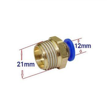 Răng ren ngoài RN 21 - Nối dây 12mm (21 ra 12mm)