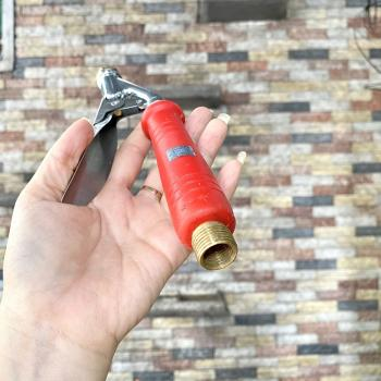 Tay bóp inox dùng cho bình xịt điện phun sương bình thuốc sâu