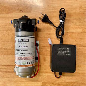 Máy bơm phun sương Hawin KJ 2000 chính hãng Taiwan tặng Adapter- 4LPM (hỗ trợ 50 - 70 Béc)