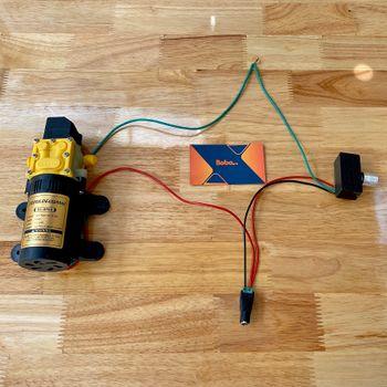 Bộ điều tốc 12V cho máy bơm tăng áp