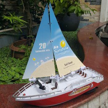 Thuyền buồm điều khiển từ xa 4 kênh Sail Boat XFH 201