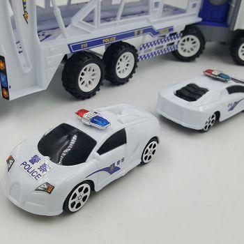 Bộ xe 5 IN 1 T25 xe cứu hộ lớn và bốn xe con