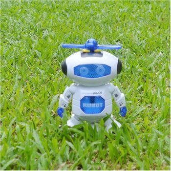 Đồ chơi Robot Thông Minh Biết Nhảy Và Hát Xoay 360 Độ