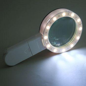 Kính lúp cầm tay zoom 30X có đèn led 2288-85