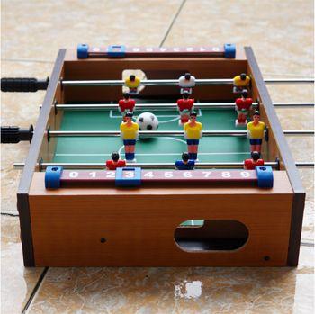 Đồ chơi bàn bi lắc bóng đá bằng gỗ cho bé N1 4 tay