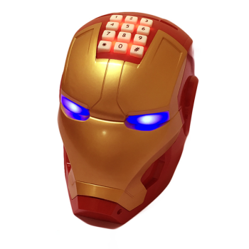 Két Sắt Mini Thông Minh Hình Iron Man Mechanic - Hộp đựng tiền tự động