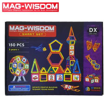 Bộ nam châm xếp hình Mag Wisdom 150 chi tiết chính hãng
