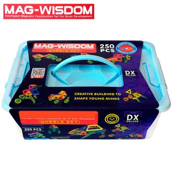Bộ xếp hình nam châm Mag Wisdom 250 chi tiết chính hãng