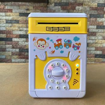 Két sắt mini hộp đựng tiền đồ chơi cho bé N3