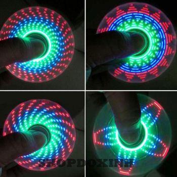 Con quay spinner có đèn led