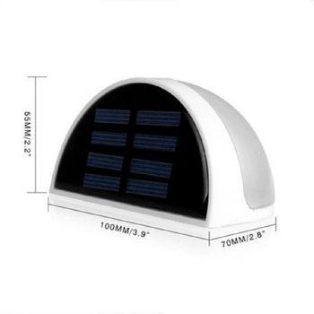 Đèn tường năng lượng mặt trời 6 led