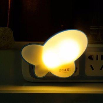 Đèn ngủ tự động hình con bướm TXA452