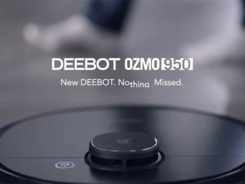 Robot hút bụi lau nhà Ecovacs Deebot OZMO 950 Bản Quốc Tế