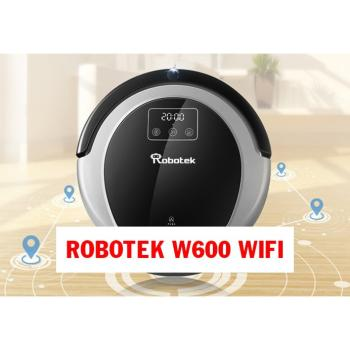 Robot hút bụi lau nhà Robotek W600 Wifi