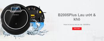 Robot hút bụi lau nhà thông minh Liectroux B2005 Plus