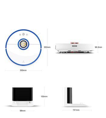 Robot hút bụi lau nhà Xiaomi Roborock Gen 2 S52 - Phiên bản LIMITED INTER MILAN