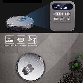 Robot thông minh hút bụi và lau nhà tự động ILIFE X750
