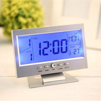 Đồng Hồ Để Bàn LED LCD DS 8082