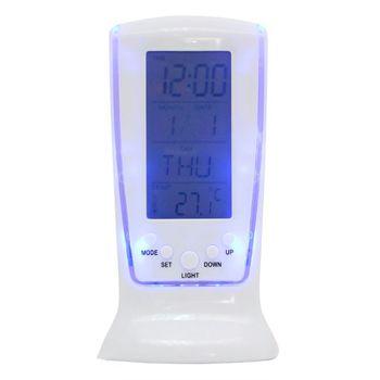 Đồng hồ để bàn đa năng Square Clock 510