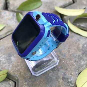 Đồng hồ định vị trẻ em KW28 nghe gọi định vị - Màu Xanh