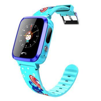 Đồng hồ định vị trẻ em V59 có tích hợp nghe từ xa (Xanh - Tím - Hồng)
