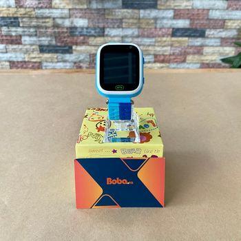 Đồng hồ gọi điện trẻ em GPS E80S N Original có tiếng Việt ( Màu Xanh )