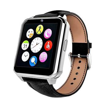 Đồng hồ thông minh lắp sim nghe gọi W90 dây da màn HD