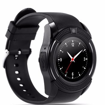 Đồng hồ thông minh mặt tròn Smartwatch V8s - Lắp sim nghe gọi