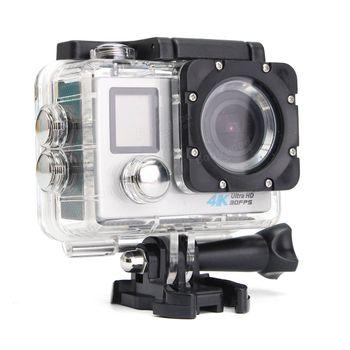 Camera hành trình gắn xe máy Ultra HD DV 4K S1 - Có ngàm gắn mũ bảo hiểm