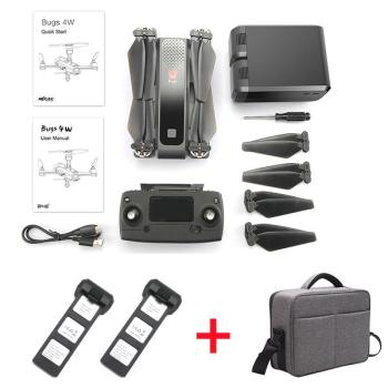 Combo Flycam Bugs 4W gồm 2 Pin và Balo