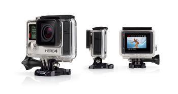 Camera chống nước đi phượt GoPro Hero4 silver