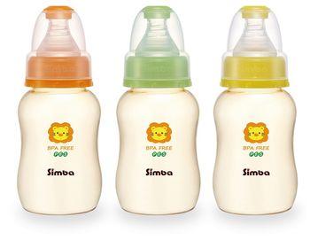Bình sữa hồ lô nhựa PES simba 150ml